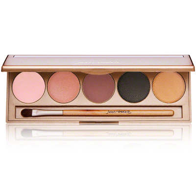 Jane Iredale Eye Shadow Kit Smoke Gets In Your Eyes (Nude, Violet, Aubergine, Sizzle and Sheer Gold)