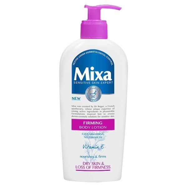 Mixa Firming Body Lotion Pump Bottle 250ml