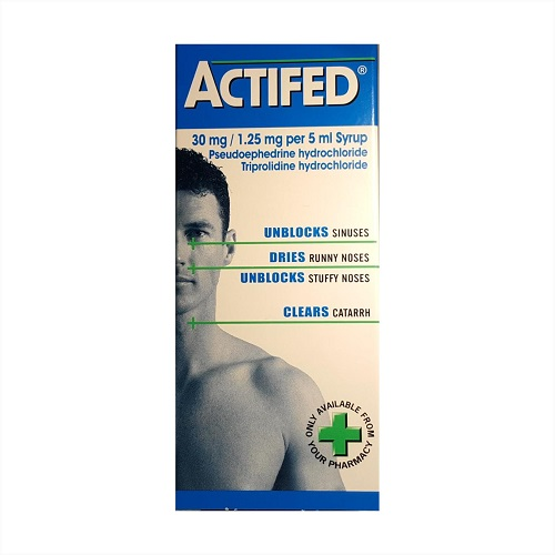 actifed cold allergy medicine