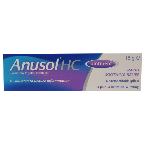 ANUSOL HC OINTMENT 15g BUY ONLINE