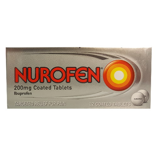 Nurofen 200mg 12 Tablets