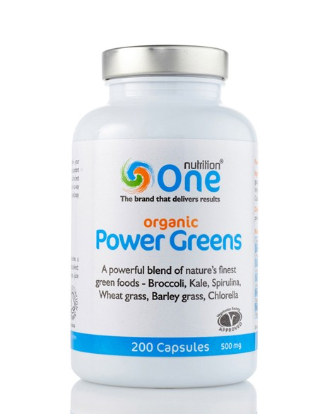 One Nutrition® Organic Power Greens 2100 Caps