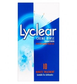 Lyclear Creme Rinse  headlice solution