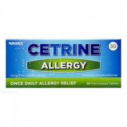 Cetrine Allergy Tablets