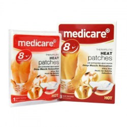 Medicare 8 Hour Therapeutic Heat Patches