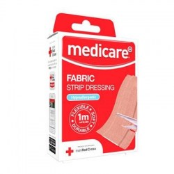 Medicare Fabric Strip Dressing 1m (Cut to Sizes)