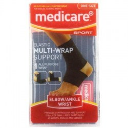 Medicare Sport Multi Wrap Support All PurPose Wrap Elbow/Ankle/Wrist