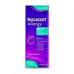 Nasacort Non Drowsy Allergy Nasal once daily 30 Spray