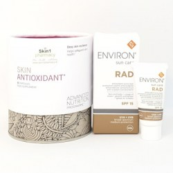 Skin Antioxidant 60 Capsules with FREE Mini Environ RAD SPF 15 5ml