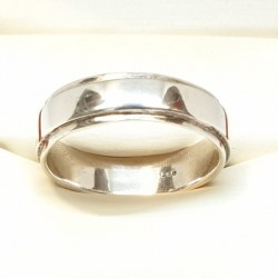 Sterling Silver Ring Men