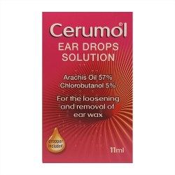 CERUMOL EAR DROPS LOOSEN WAX BUY ONLINE IRELAND