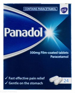 PANADOL 500mg FILM-COATED TABLETS 24