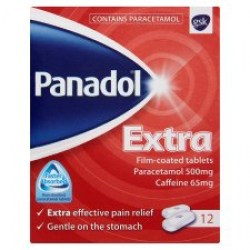 PANADOL BUY ONLINE IRELAND EXTRA FILM-COATED 12