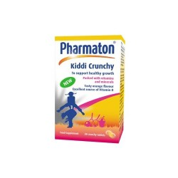 Pharmaton Kiddi Crunchy 30 Chewable Tablets