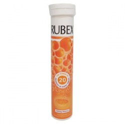 RUBEX ORANGE 1000mg 20 EFFERVESCENT TABLETS